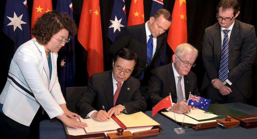 Australian Pm Heralds Signing Of Landmark Free Trade Agreement With