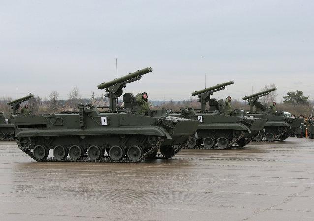 Khrizantema-S anti-tank missile system