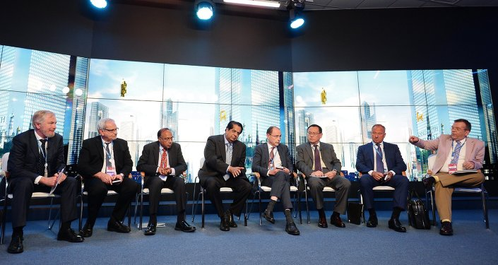 RT TV debates, The New Development Bank: A Stronger Role for BRICS in the Global Financial Architecture, at SPIEF