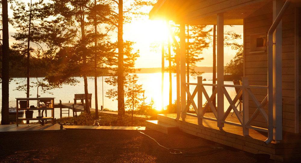 Cottage Life in Finnish Lakeland