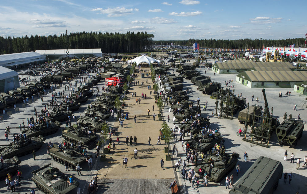 Best Russian Hardware on Display: ARMY-2015 International Forum