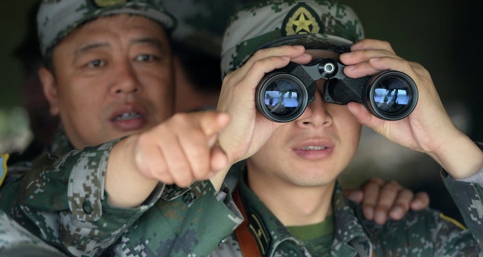 Chinese servicemen