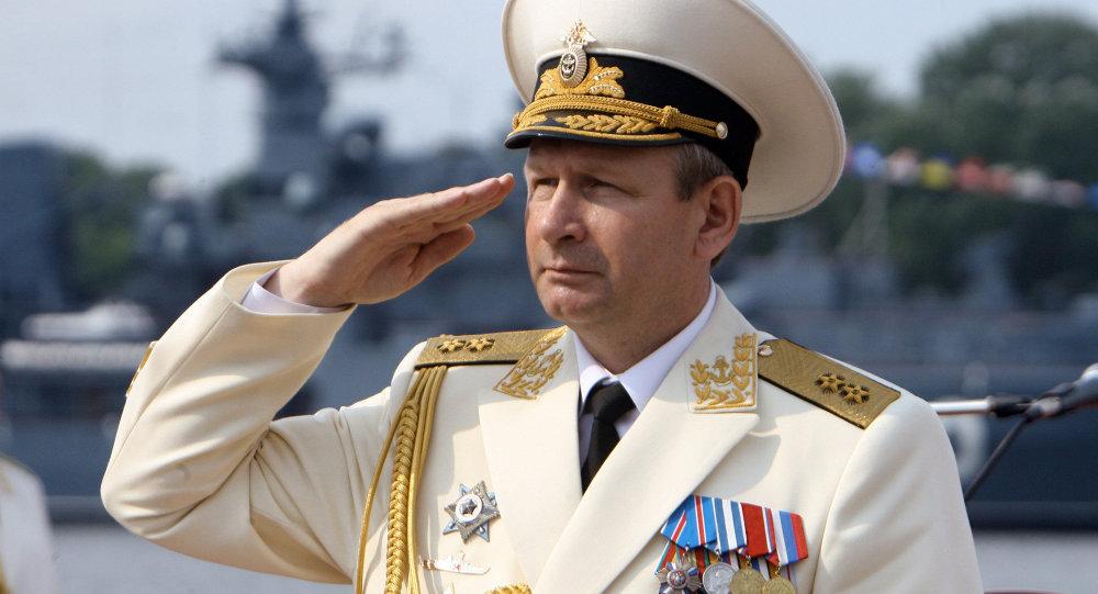 Navy Commander-in-Chief Adm. Viktor Chirkov