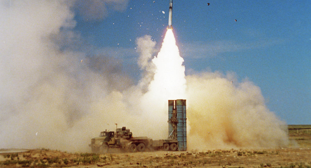 S-300 PMU-1 air defense missile system
