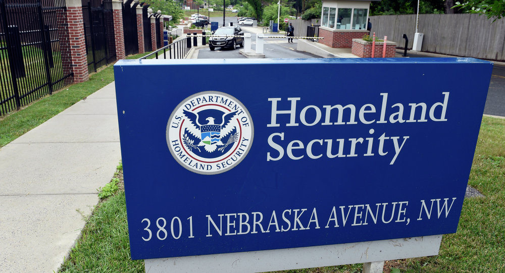 A view of the Homeland Security Department headquarters in northwest Washington, Friday, June 5, 2015