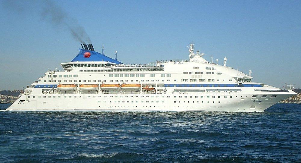 Cruise ship Celestyal Crystal