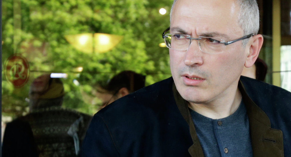 Mikhail Khodorkovsky meets with journalists in Donetsk