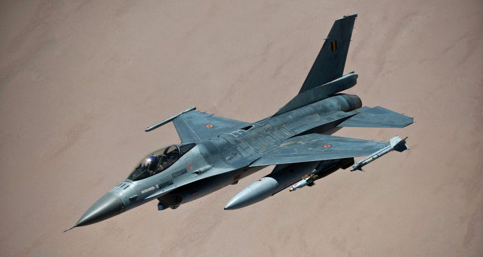 Belgian F-16 fighter