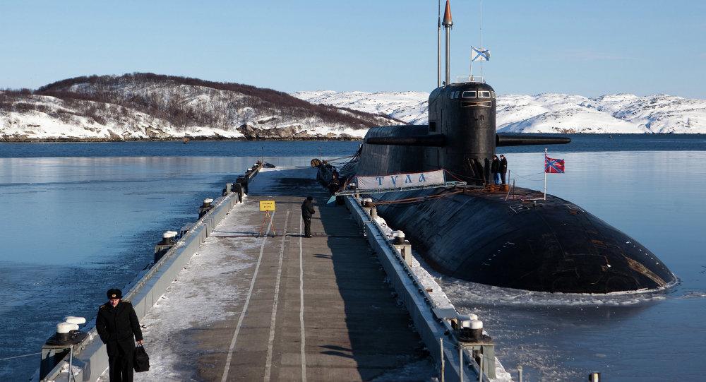 Drills for nuclear submarine crews at training center in Murmansk Region