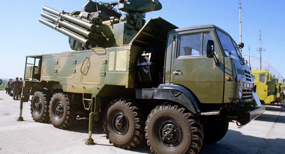 Pantsir-S1 Air Defense Missile/Gun System