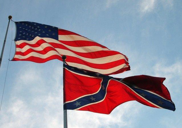 The US Confederate flag