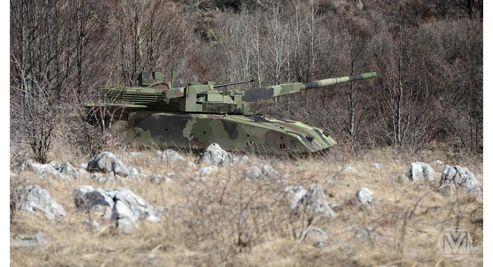 Serbian tank  M-20UP-1