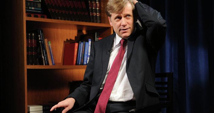 U.S. Ambassador to Russia Michael McFaul