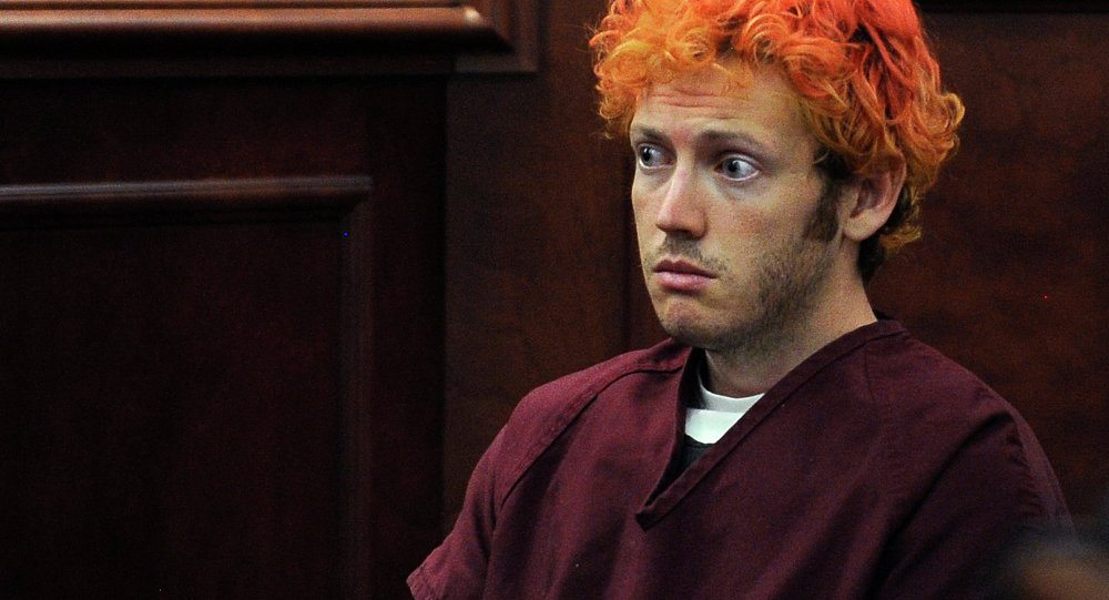 James Holmes, who was convicted of killing 12 moviegoers and wounding 70 more in a shooting spree in a crowded theatre in Aurora, Colo.