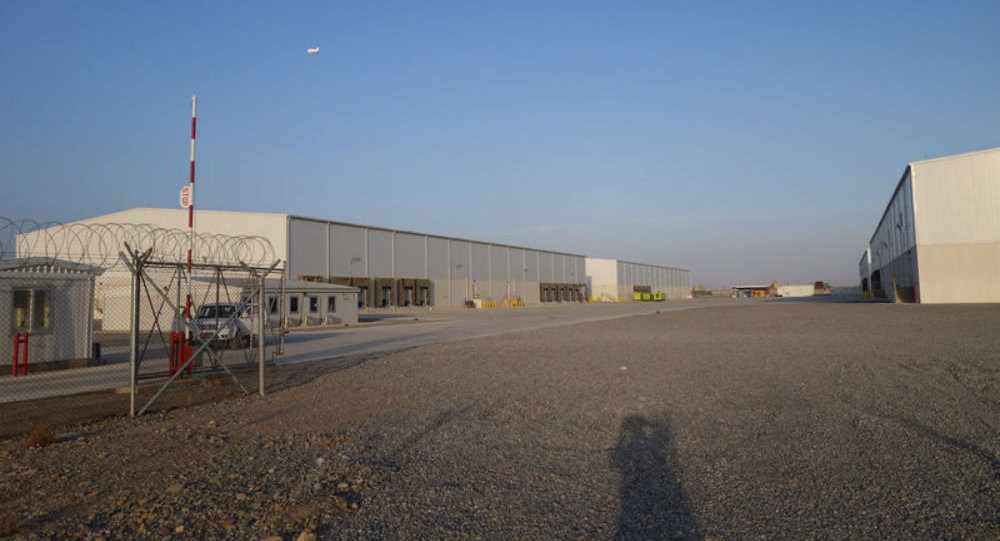 A US military complex of warehouses at Kandahar Airfield in Afghanistan cost $14.7 million to construct.