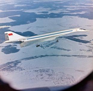Tu-144 passenger airliner