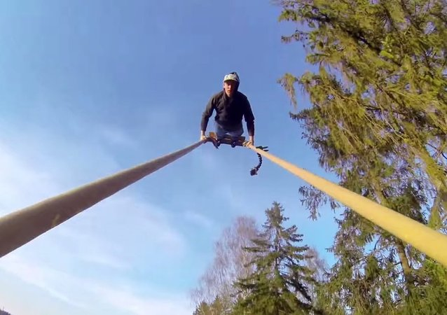 GoPro: Giant Swing Flip in 2.7k