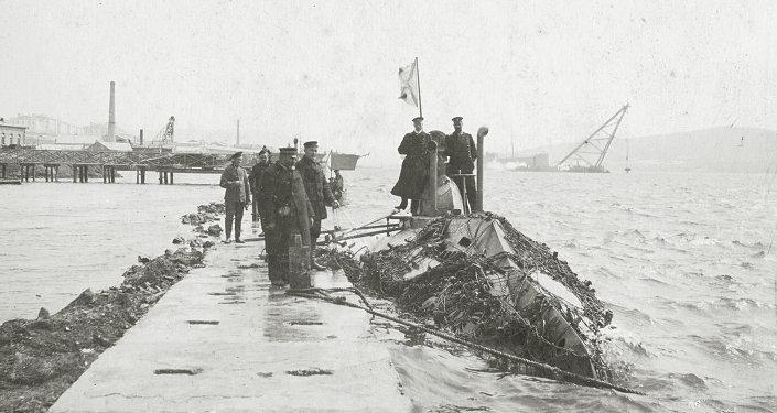 Som (Сatfish) submarine