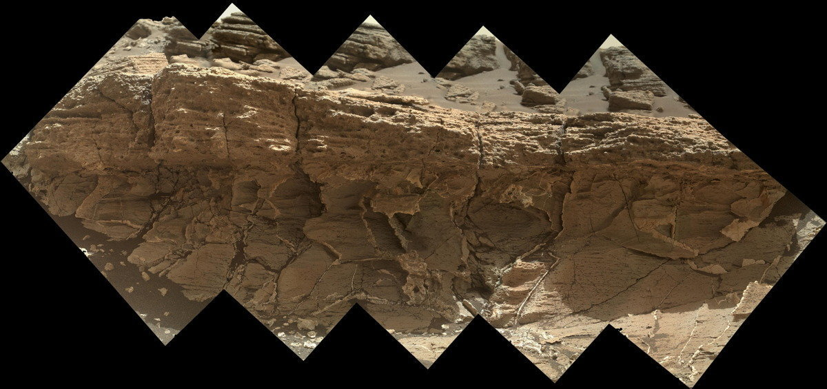 mystery rover curiosity white rock - photo #17
