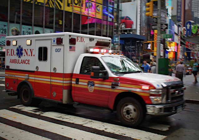 Ambulance, New York.
