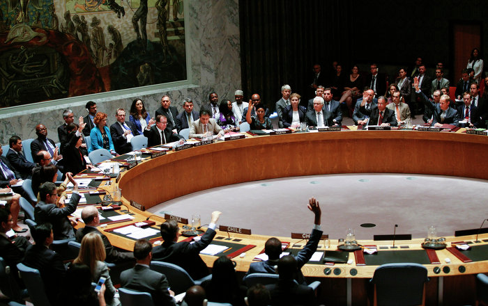 UNSC Passes Resolution on Chemical Weapon Attacks in Syria