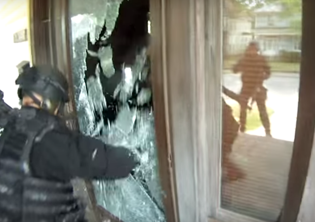 Indiana SWAT Team Deemed Liable for Wrong-House Flashbang Raid