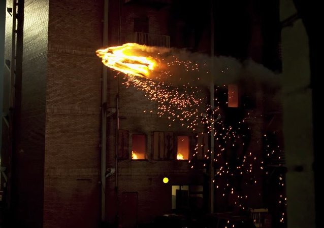 Human Torch Drone