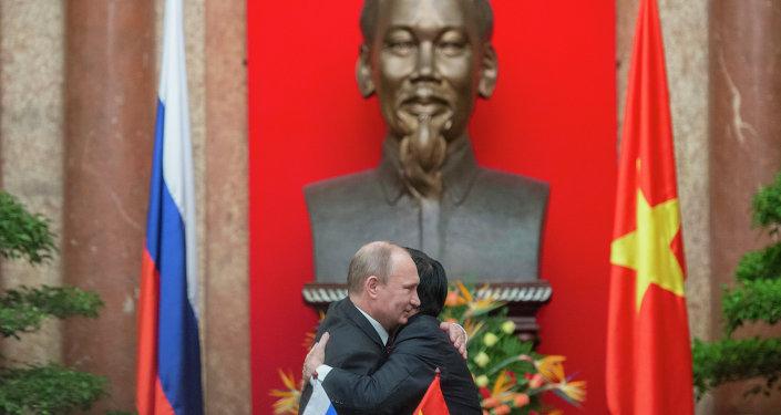 Vladimir Putin's official visit to Vietnam