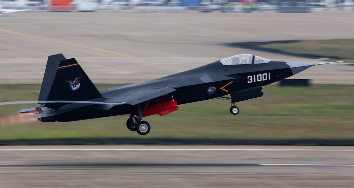 China's first stealth fifth-generation aircraft, the Shenyang J-31