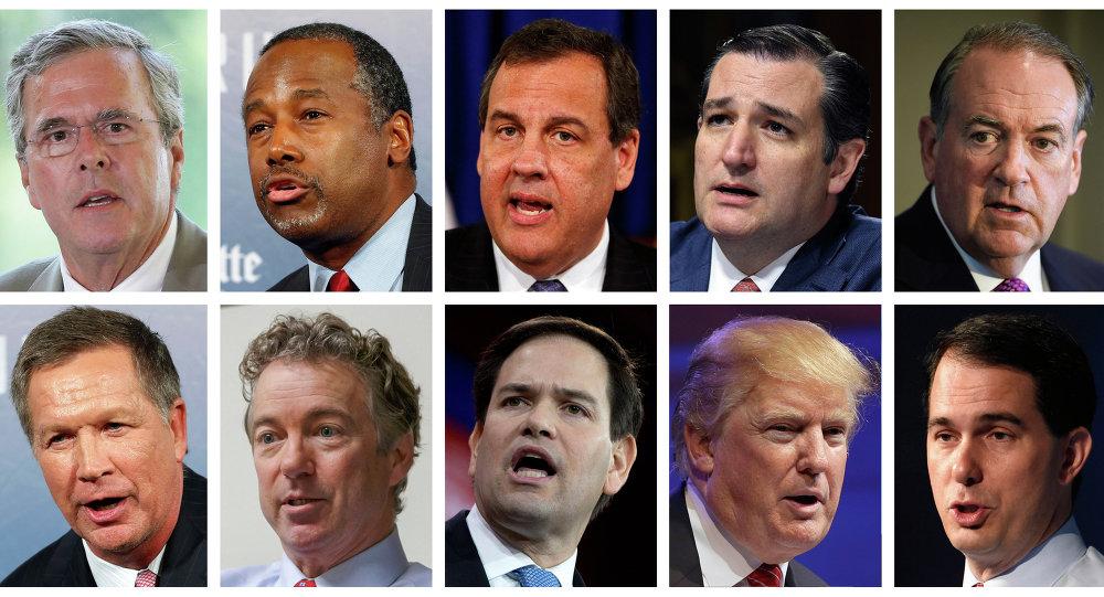 The Republican presidential field