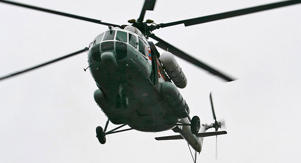 Mi-8 Russian helicopter crashes in Siberia, at least 19 dead