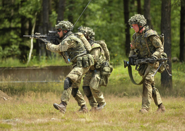 Danish army training