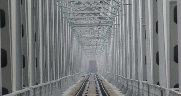 Phase 2 of railway bridge over Amur commissioned in Khabarovsk