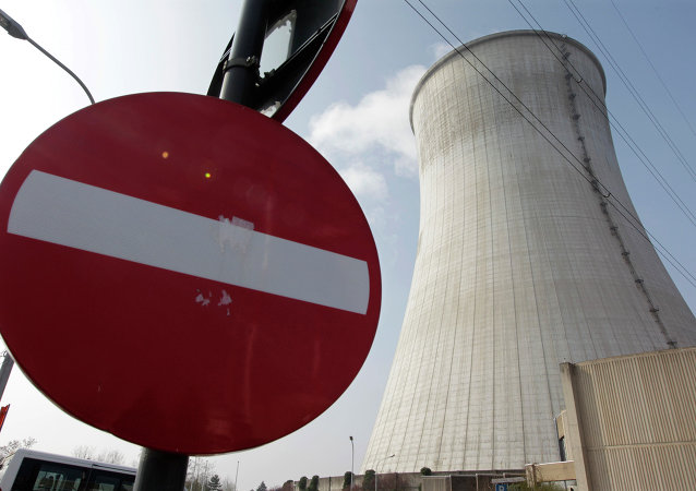 The nuclear power plant in Tihange, Southeast of Brussels