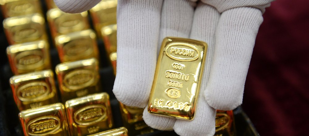 Gold manufacturing in Yekaterinburg, Russia