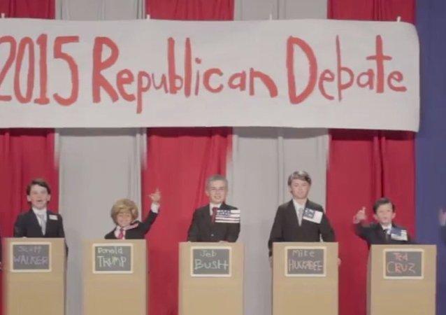Kids GOP 2016 Debate