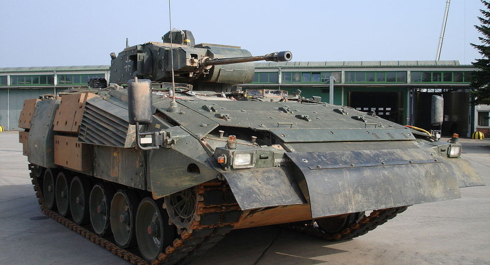 Puma armored infantry carrier