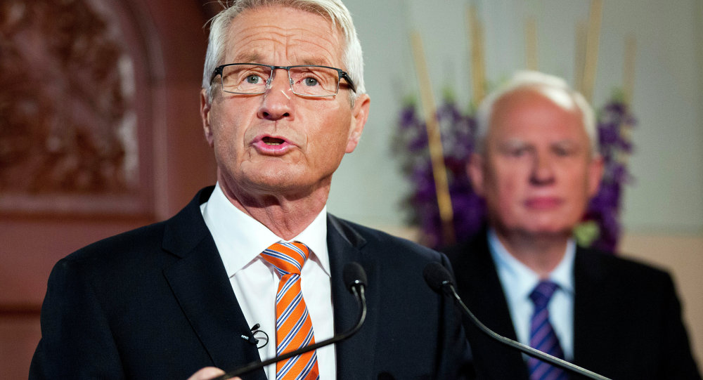 Council of Europe Secretary General Thorbjorn Jagland. File photo