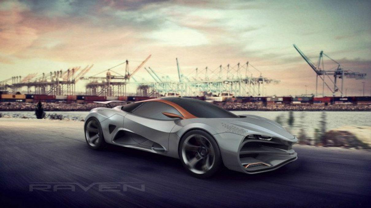 Lada raven concept car 2018.