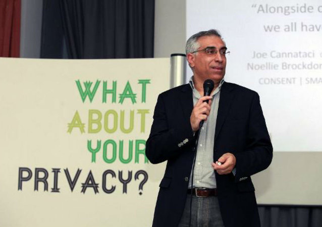 Joseph Cannataci, UN special rapporteur on privacy