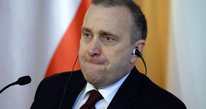 Polish Foreign Minister Grzegorz Schetyna slammed President Andrzej Duda on Tuesday over a proposal to change the format of talks on the resolution of the crisis in Ukraine, calling the remarks unfortunate and awkward, and emphasizing that foreign policy is the domain of the Polish government, and not just that the president.