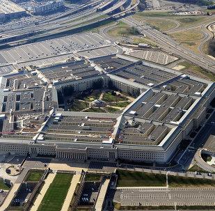 The Pentagon building in Washington, DC