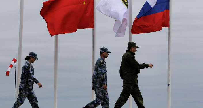 Russian-Chinese drill Naval Interaction–2015 in Vladivostok