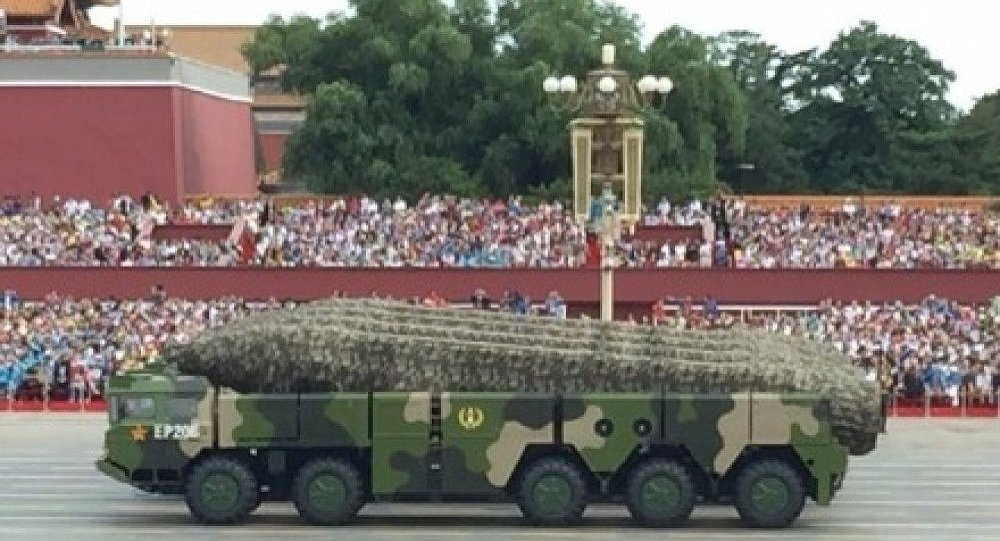 China for the First Time Publicly Displays 'Guam Killer' Missile