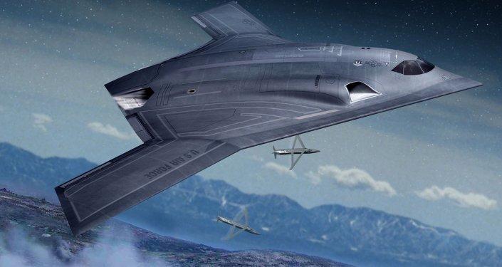 Long Range Strike Bomber concept art