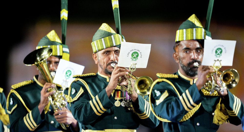 Pakistan's National Military Band to Perform at Moscow Int'l