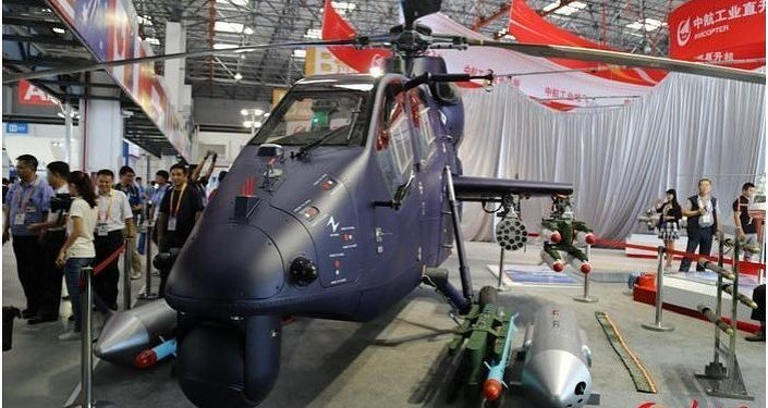 China's light attack helicopter, Z-19E