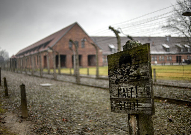 The former Auschwitz-Birkenau concentration camp in Oswiecim, which was turned into a museum in 1947.