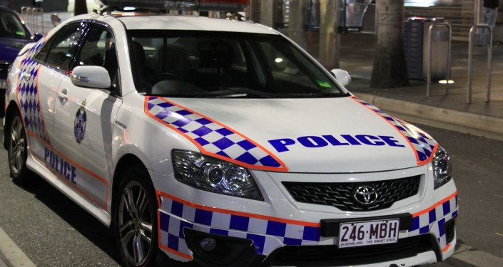 A police car in Gold Coast Queensland Australia