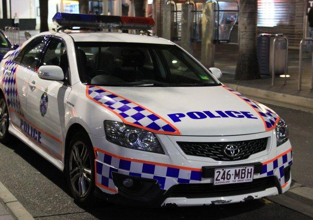 A police car in Australia